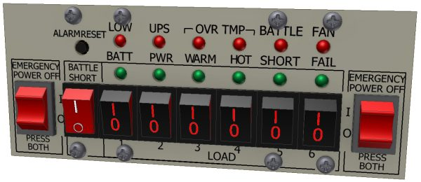 Control Panel with Optional